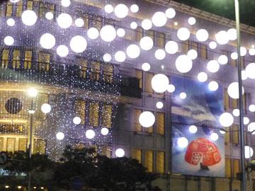 ソウル市内のクリスマスイルミネーション