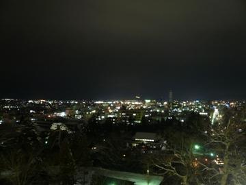 天守閣からの夜景
