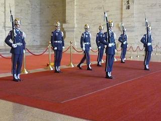 衛兵交代式の様子